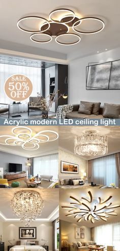 Design chandeliers suitable for all occasions such as living room, bedroom, dining room, etc., to add temperature and color to your interior, now the special offer, come and see! Recessed Ceiling Lights, Interior, Modern Led Ceiling Lights, Home Decor Decals, Building A House, Modern, Ceiling Lights Diy, Home Decor, Diy Lighting
