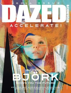 Björk for Dazed & Confused cover