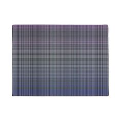 #cross line curve design abstract shapes colorful doormat - #modern #cool