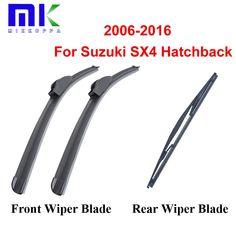 Promo offer US $11.04  Front & Rear Wiper Blades For Suzuki SX4 Hatchback 2006 2007 2008 2009-2016 Windscreen Windshield Wipers Auto Car Accessories   #Front #Rear #Wiper #Blades #Suzuki #Hatchback #Windscreen #Windshield #Wipers #Auto #Accessories  #BlackFriday