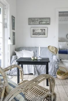 Interior design is a concern for anyone that wants his or her home to have a. House Styles, Summer House, Decor, House Interior, Beach House Style, Ideal Home, Home, Country Interior, Home Decor