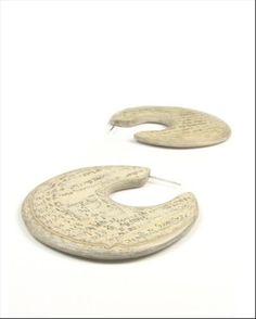 Leah Miles - layered paper earrings - To see more of her work go to Platform.