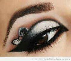 Hermoso maquillaje especial para una fiesta