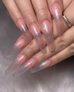In seek out some nail styles and some ideas for your nails? Here's our listing of must-try coffin acrylic nails for stylish women. Aycrlic Nails, Gold Nails, Glitter Nails, Coffin Nails, Manicure, Edgy Nails, Toenails, Solid Color Nails, Nail Colors
