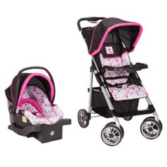 MINNIE MOUSE Saunter Sport Travel System from Safety 1st #DisneyBabyPackNPin