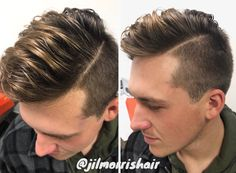 Beige blonde balayage highlights for men, brolayage, men's hair, fashion & style, fade haircut, barbering