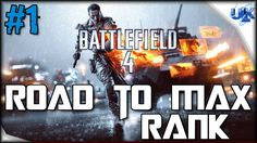 BATTLEFIELD 4 ROAD TO MAX RANK Live Multiplayer Gameplay #1 (PS4 HD)