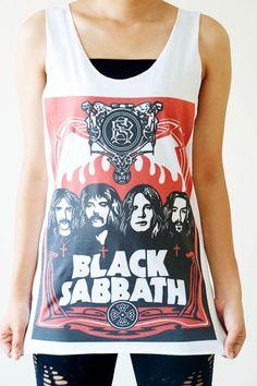 SML BLACK SABBATH Shirts Heavy Metal Shirts Rock by cottonclick, $16.00