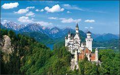 Schlösser und Gärten in Deutschland - Schloss Neuschwanstein Castle that fairytales are made of!