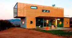 """another """"shipping container"""" home"""
