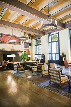 Eat lunch at the Ahwahnee Hotel in Yosemite. Not only is the scenery and architecture awe-inspiring, the hotel served as inspiration for the Overlook Hotel in Stanley Kubrick's film The Shining.   http://www.yosemitepark.com/the-ahwahnee.aspx