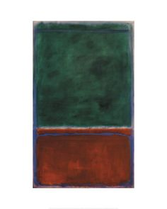 Mark Rothko - Green and Maroon, 1953 - Art Prints from the Phillips Collection