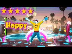 Just Dance 2015 - Happy - 5* Stars - YouTube