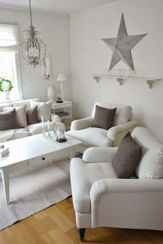 Simply and clean lines and color for either the Beach home or Vintage home, make it your own.....