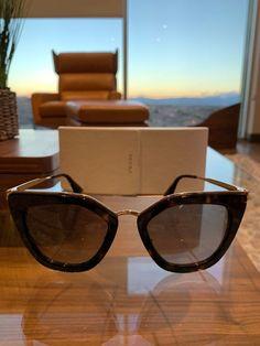f0f957122dc1 Authentic Women's Prada Sunglasses Tortoise Shell Brown & Gold@ebay  @pinterest #glasses