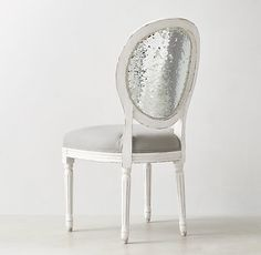 Vintage French Sequin Desk Chair - RH Teen, this is my home office chair