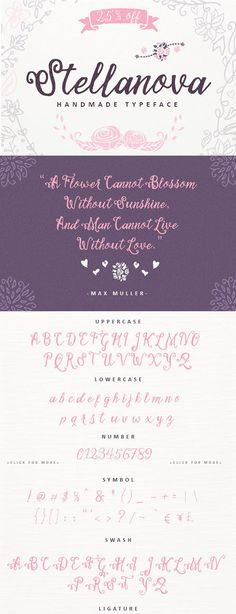 Stellanova Typeface by ianmikraz