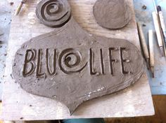Carve the clay