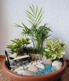 Cómo hacer un mini jardín, paso a paso