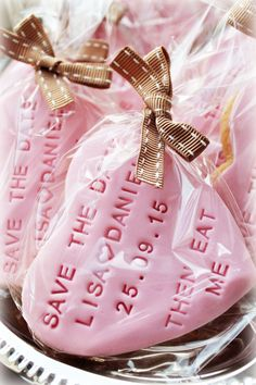 Wedding Special: Save the Date Cookies