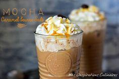 Café mocha maison au caramel beurre salé