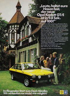 Opel Kadett C (1975) GTE