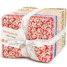 30's Playtime 2015 40 Fat Quarter Bundle by Chloe's Closet for Moda Fabrics