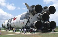 Oh good gracious how I would love to ever have been in the presence of a Saturn V rocket launch!!!!!!!!!!!!!!  They are massive, powerful and super LOUD!