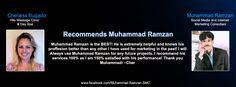 Cheriess Bugado Hilo Massage Clinic & Day Spa Recommends Muhammad Ramzan Social Media & Internet Marketing Consultant