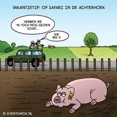 Het is dierendag! Daarom: 15 cartoons met een dier erin.