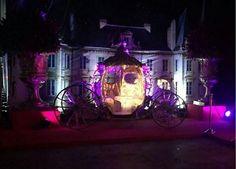 Espaço externo.Castelo e carruagem Da Festa de 15 Anos Da Larissa Manoela! #SonhosDeLari