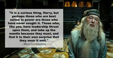 Harry Potter and the Deathly Hallows | 14 Profound Quotes From The Harry Potter Books....LOVE this quote!!