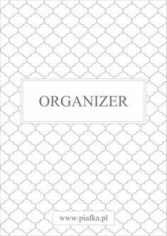 Okładka organizera do pobrania