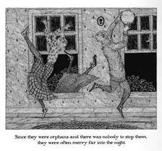 edward gorey pictures | edward gorey~ the deranged cousins | nouvellegamine