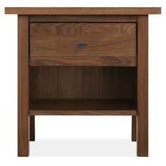 Room & Board - Sherwood 21w 19d 20h One-Drawer Nightstand