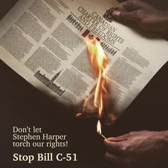 NAAIJ | National Day of Action planned against Bill C-51 (#StopC51)