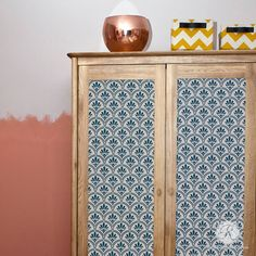 1000 Images About Stenciled And Painted Furniture On