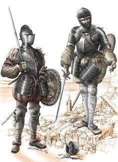Swordsmen, 16th Century possibly Spanish