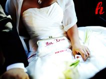 """Brauttasche """"Mrs. X"""", personalisiert"""