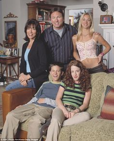 Changes: Originally called 8 Simple Rules For Dating My Teenage Daughter, the show changed its title and some of its characters after star John Ritter (centre) died during season two