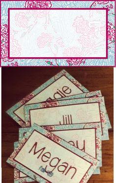 Pi Phi Lilly print name tag printable! #piphi #pibetaphi