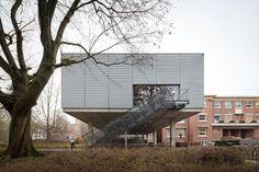 Fitnesscentrum KU Leuven - Poponcini & Lootens ir. architecten