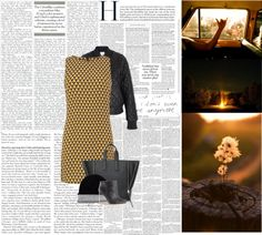 """""""retro night"""" by margerite-treseriod ❤ liked on Polyvore"""