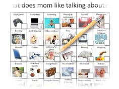 Talk to mom worksheet featured image