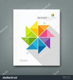 Free Report Cover Page Template Product Page Templates Vector  Free Vectors  Pinterest  Template .