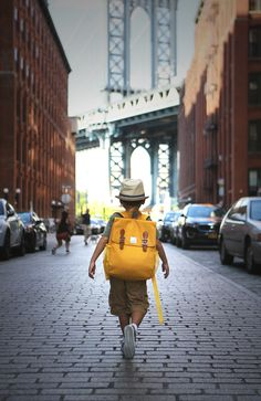 #PERRYMACKIN #KIDS #FASHION #BACKPACK #SCHOOL #BAG AT #DUMBO #BROOKLYN