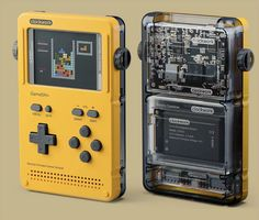 GameShell: hackable portable game console for indie devs and retrogame fans / Bo. - CYBERPUNK and ROSE NOIR - GameShell: hackable portable game console for indie devs and retrogame fans / Boing Boing - Estilo High Tech, Retro Game Systems, Esp8266 Arduino, Tech Tattoo, Module Design, Design Tech, Portable Game Console, Tech House Music, Arte Cyberpunk