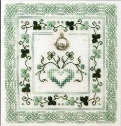 The Sweetheart Tree Celtic Challenge Cross Stitch Pattern and Charm