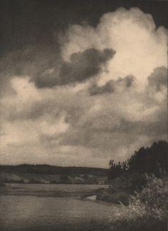 "ALVIN LANGDON COBURN, ""The Clouds"", ca. 1908, photogravure, 14 7/16"" x 10 1/2"""