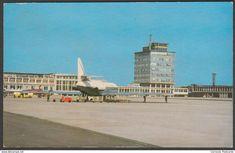 Manchester Airport, Lancashire, c.1960 - Lilywhite Postcard